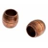 Metal Bead 6X5.5x4mm Antique Copper